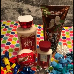 Another Christmas Must! NWT 4 Pc Bath & Body Works